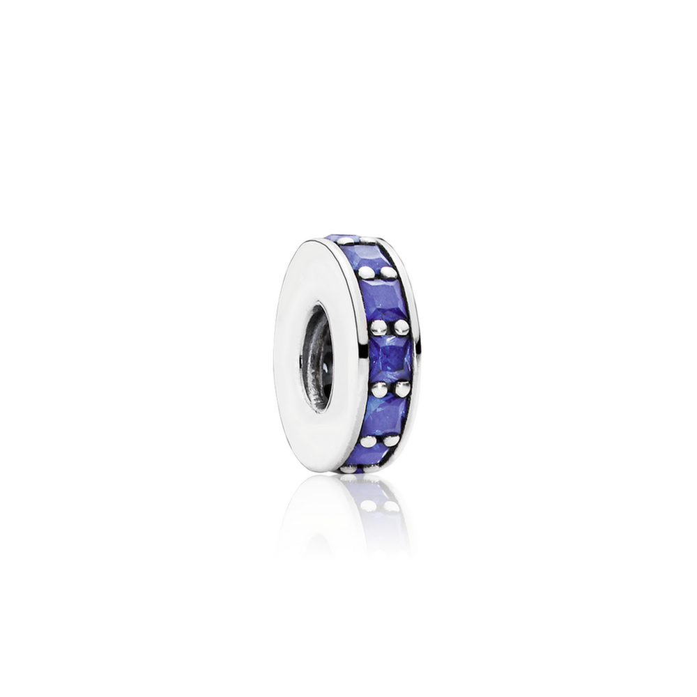 Eternity Spacer, Royal Blue Crystal 791724NCB